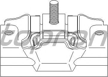 Подушка двигателя TOPRAN 720 355
