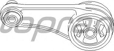 Опора двигателя TOPRAN 700 153 (сайлентблок вспомогательной рамы / агрегатной опоры)