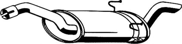 Глушитель ASMET 09.065