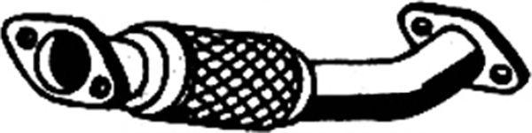 Труба выхлопного газа ASMET 07.158