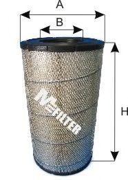 Воздушный фильтр MFILTER A 837