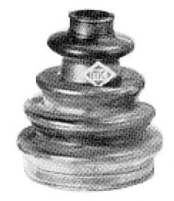 Комплект пыльника ШРУСа Metalcaucho 01342