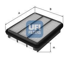 Воздушный фильтр UFI 30.204.00