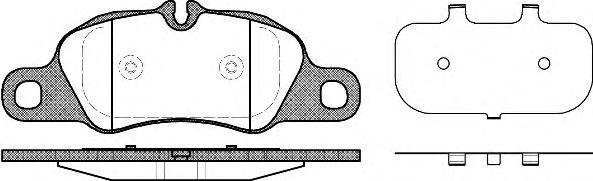 Тормозные колодки REMSA 1366.00