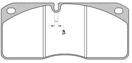 Тормозные колодки REMSA JCA 278.21