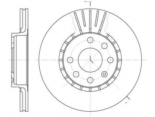 Тормозной диск REMSA 6174.10