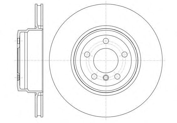 Тормозной диск REMSA 61337.10