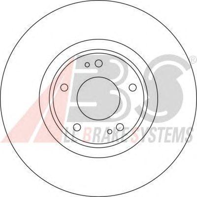 Тормозной диск A.B.S. 17127