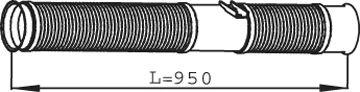 Труба выхлопного газа DINEX 68277