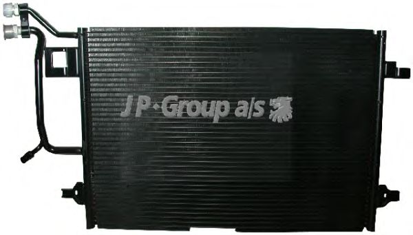 Радиатор кондиционера JP GROUP 1127200900