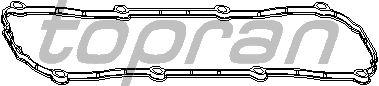 Прокладка клапанной крышки TOPRAN 109 835
