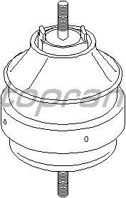 Подушка двигателя TOPRAN 104 423