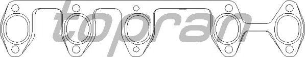 Прокладка выпускного коллектора TOPRAN 112 402
