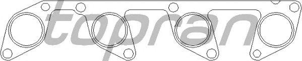 Прокладка выпускного коллектора TOPRAN 111 927