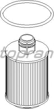 Масляный фильтр TOPRAN 207 729