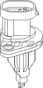 Выключатель TOPRAN 207 817 (фонарь сигнала торможения, фара заднего хода)