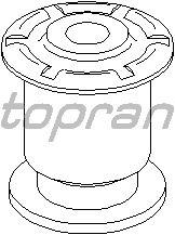 Подвеска TOPRAN 112 006 (рычаг независимой подвески колеса, корпус колесного подшипника)