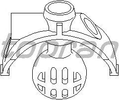 Шаровая головка, система тяг и рычагов TOPRAN 111 323