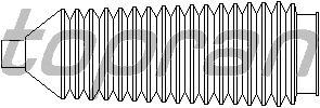 Пыльник рулевой рейки TOPRAN 302 381