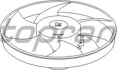Вентилятор охлаждения TOPRAN 721 524