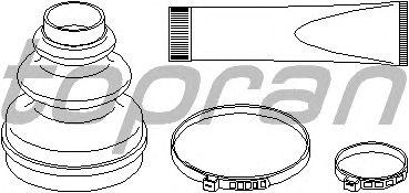 Комплект пыльника ШРУСа TOPRAN 721 154