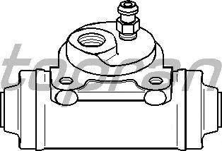 Колесный тормозной цилиндр TOPRAN 720 977