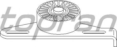 Натяжной ролик поликлинового ремня TOPRAN 700 226