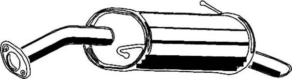 Глушитель ASMET 15.016