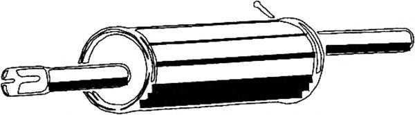 Глушитель ASMET 10.101