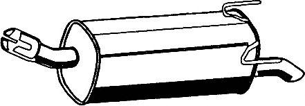 Глушитель ASMET 05.180