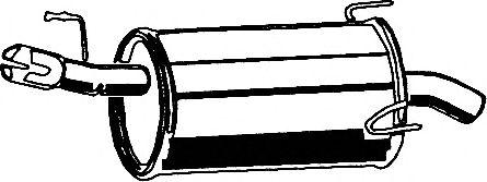 Глушитель ASMET 05.186