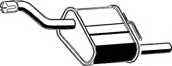Глушитель ASMET 07.152
