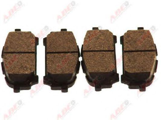 Тормозные колодки ABE C27001ABE