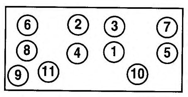 Прокладка головки блока цилиндров (ГБЦ) AJUSA 10076300