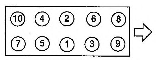 Прокладка головки блока цилиндров (ГБЦ) AJUSA 10017700