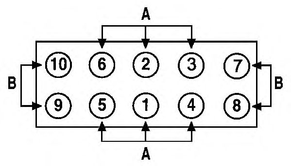 Прокладка головки блока цилиндров (ГБЦ) AJUSA 10139400