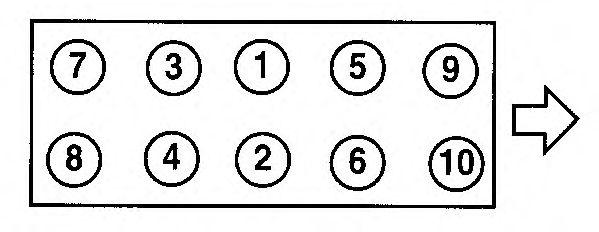 Прокладка головки блока цилиндров (ГБЦ) AJUSA 55004400
