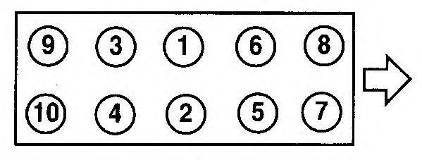 Прокладка головки блока цилиндров (ГБЦ) AJUSA 10070110