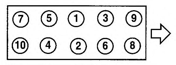 Прокладка головки блока цилиндров (ГБЦ) AJUSA 10152110