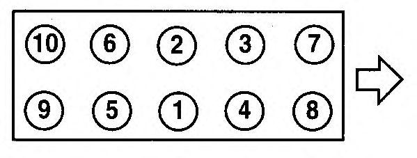 Прокладка головки блока цилиндров (ГБЦ) AJUSA 10038600
