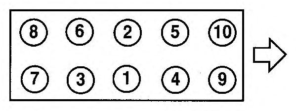 Прокладка головки блока цилиндров (ГБЦ) AJUSA 10103500