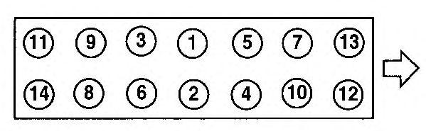 Прокладка головки блока цилиндров (ГБЦ) AJUSA 10079510