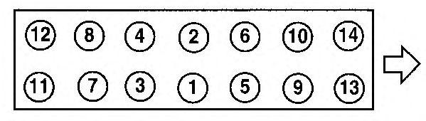 Прокладка головки блока цилиндров (ГБЦ) AJUSA 10129000