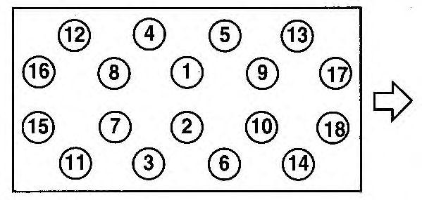 Прокладка головки блока цилиндров (ГБЦ) AJUSA 10123330