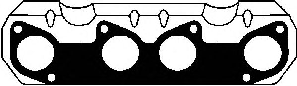 Прокладка выпускного коллектора AJUSA 13073200