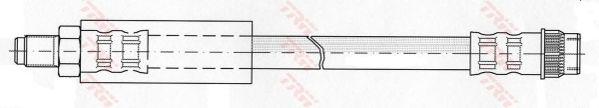 Тормозной шланг TRW PHB403