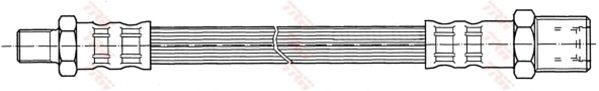 Тормозной шланг TRW PHB436