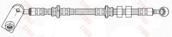 Тормозной шланг TRW PHD459
