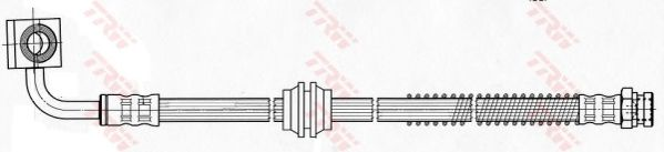 Тормозной шланг TRW PHD632