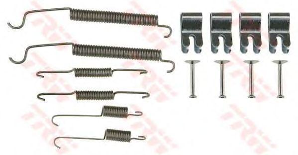 Монтажный комплект тормозных колодок TRW SFK424